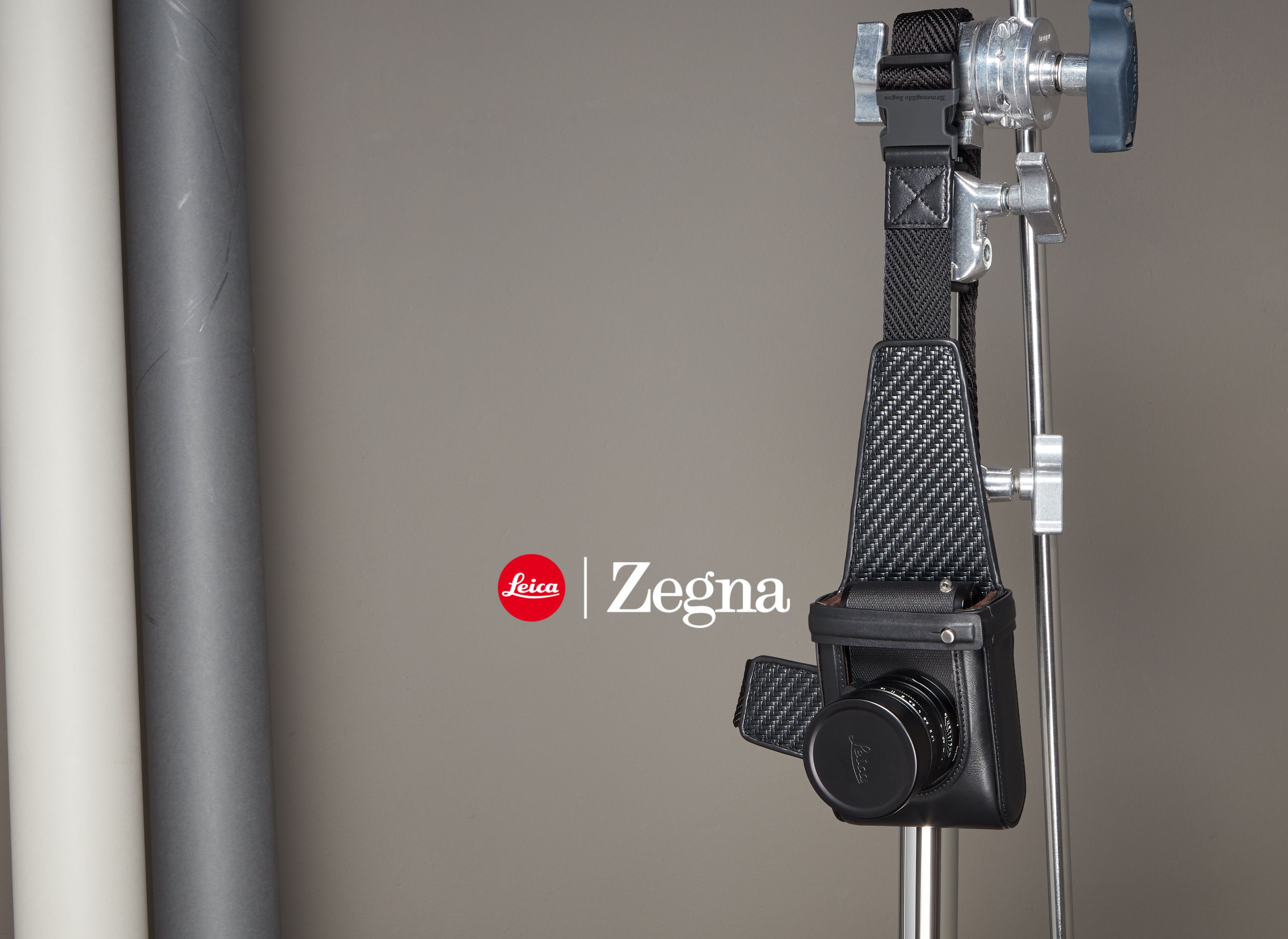 Leica x Zegna an exclusive collection of leather accessories