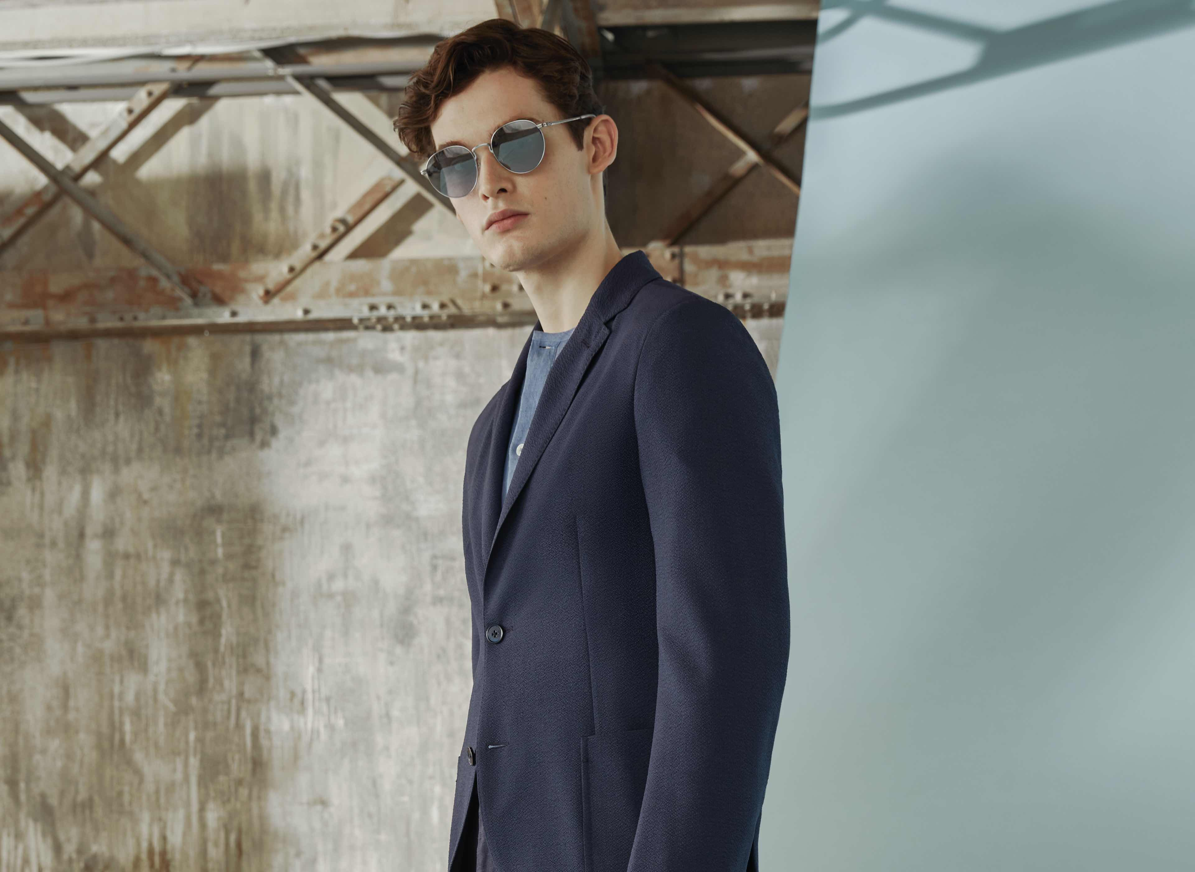 Comfortable seersucker jackets for warm weather outfit | Zegna