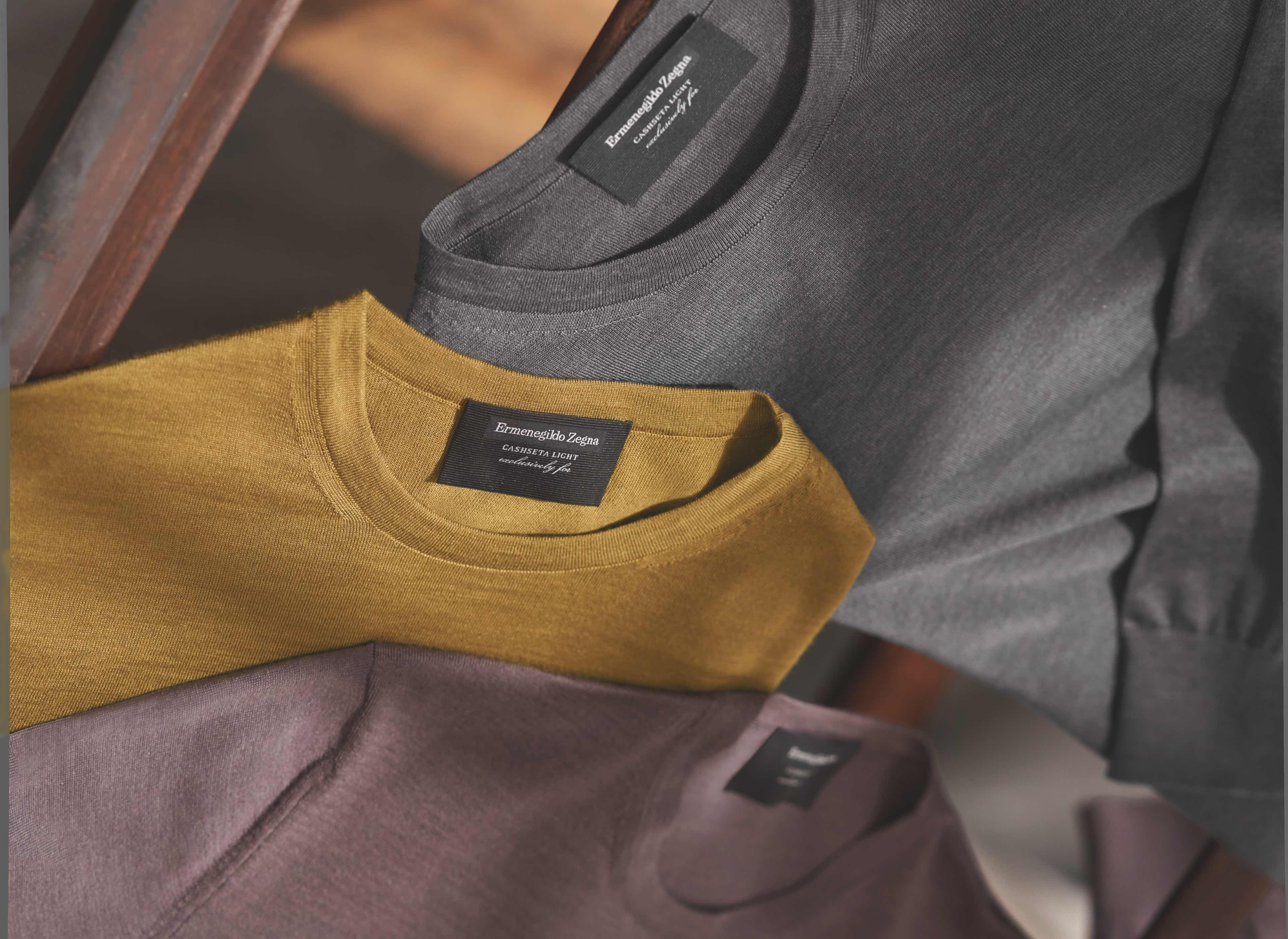 Made to measure knitwear for men | My Zegna