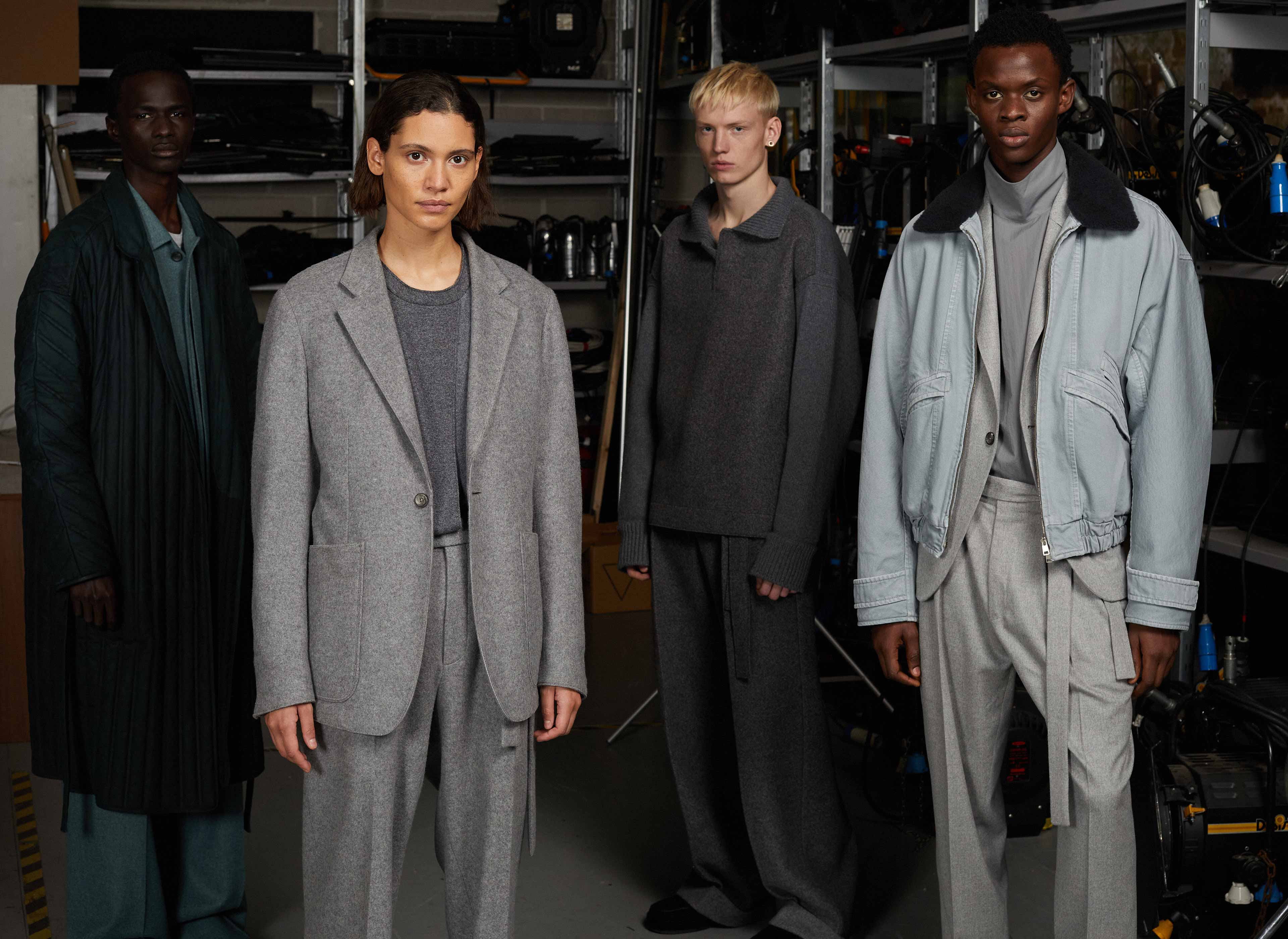Men's fashion show look by Alessandro Sartori | Zegna