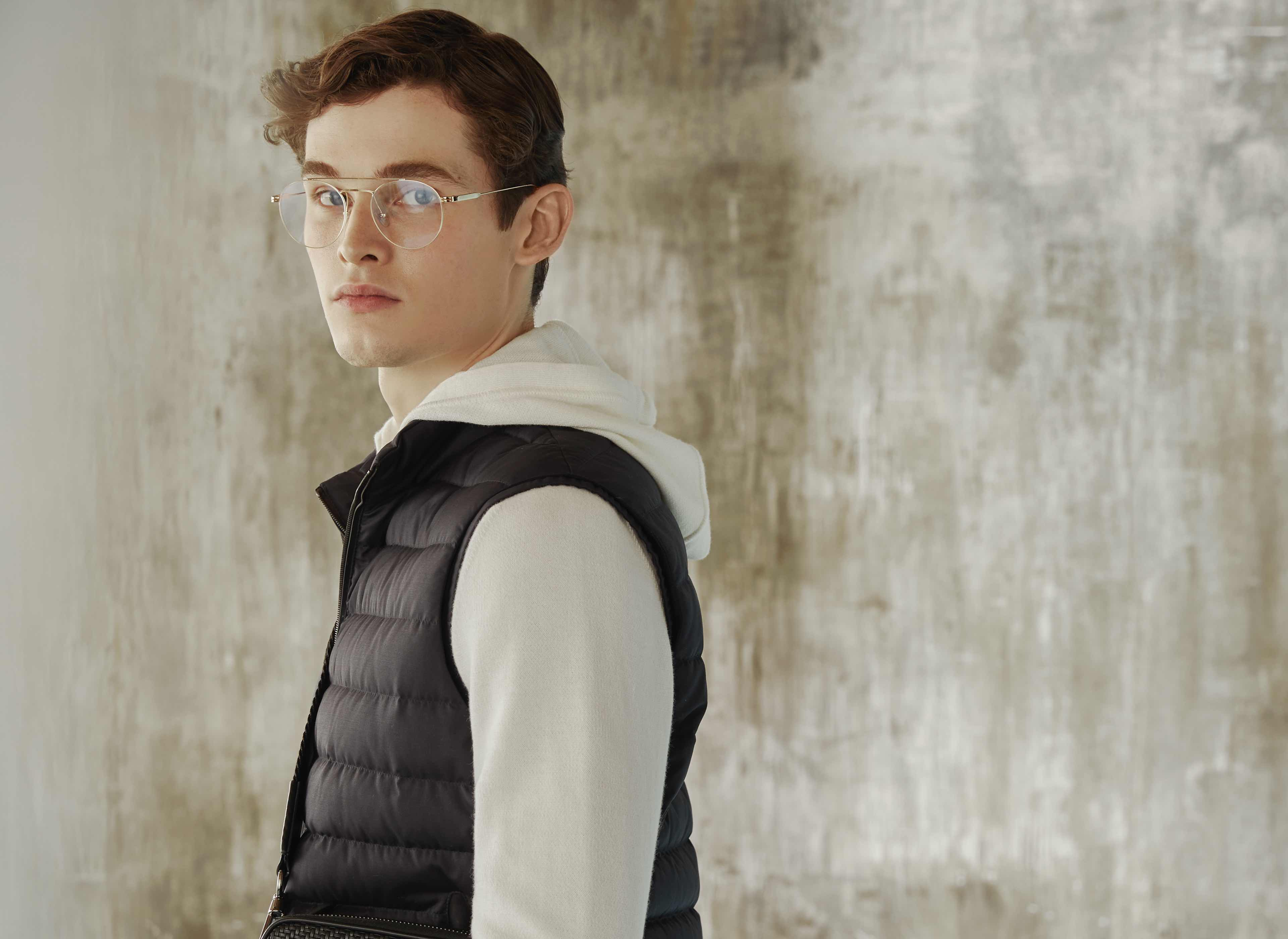 Classic heavenly blue menswear collection | Zegna