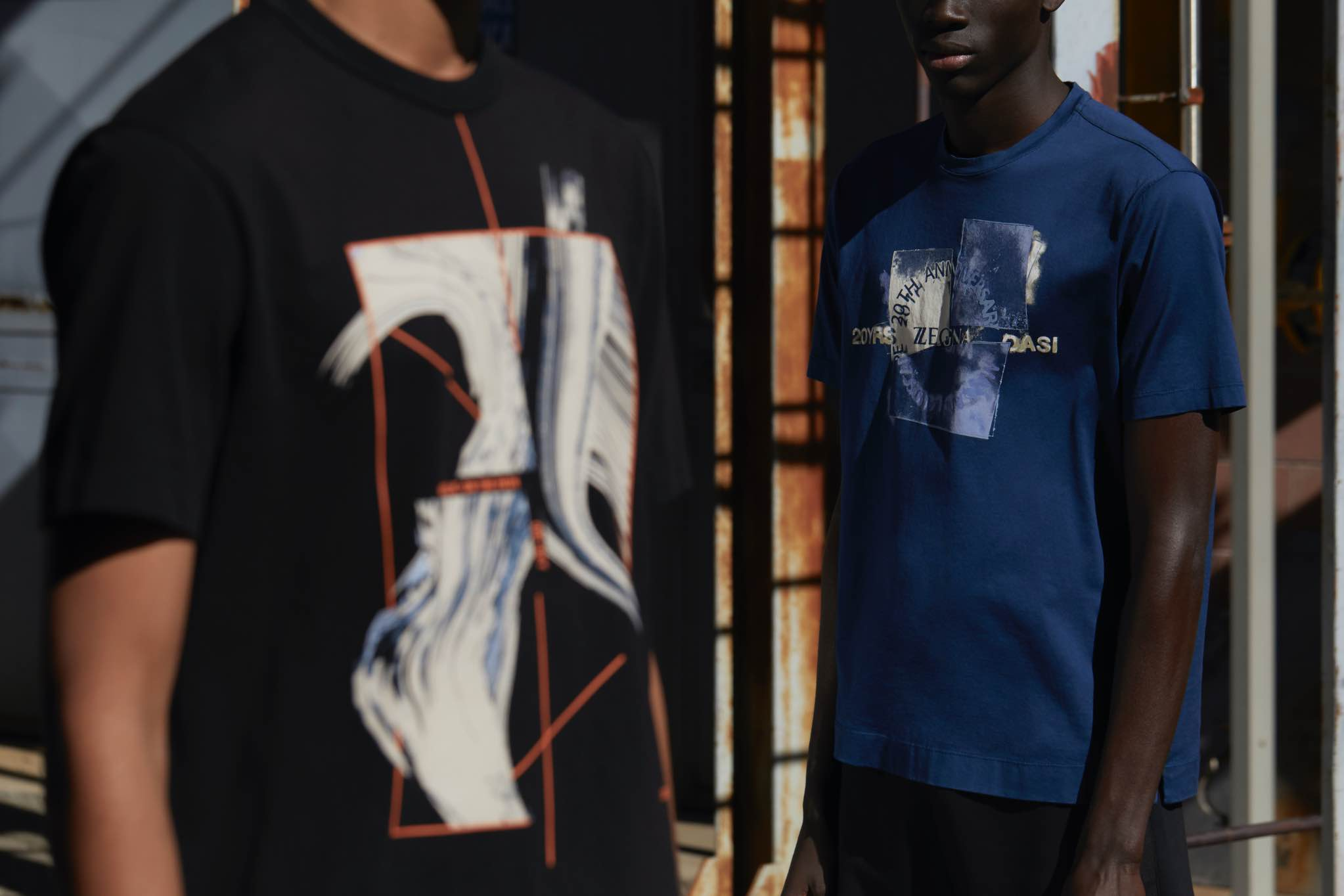 Designer t-shirts for men | Summer collection 2021 | Zegna