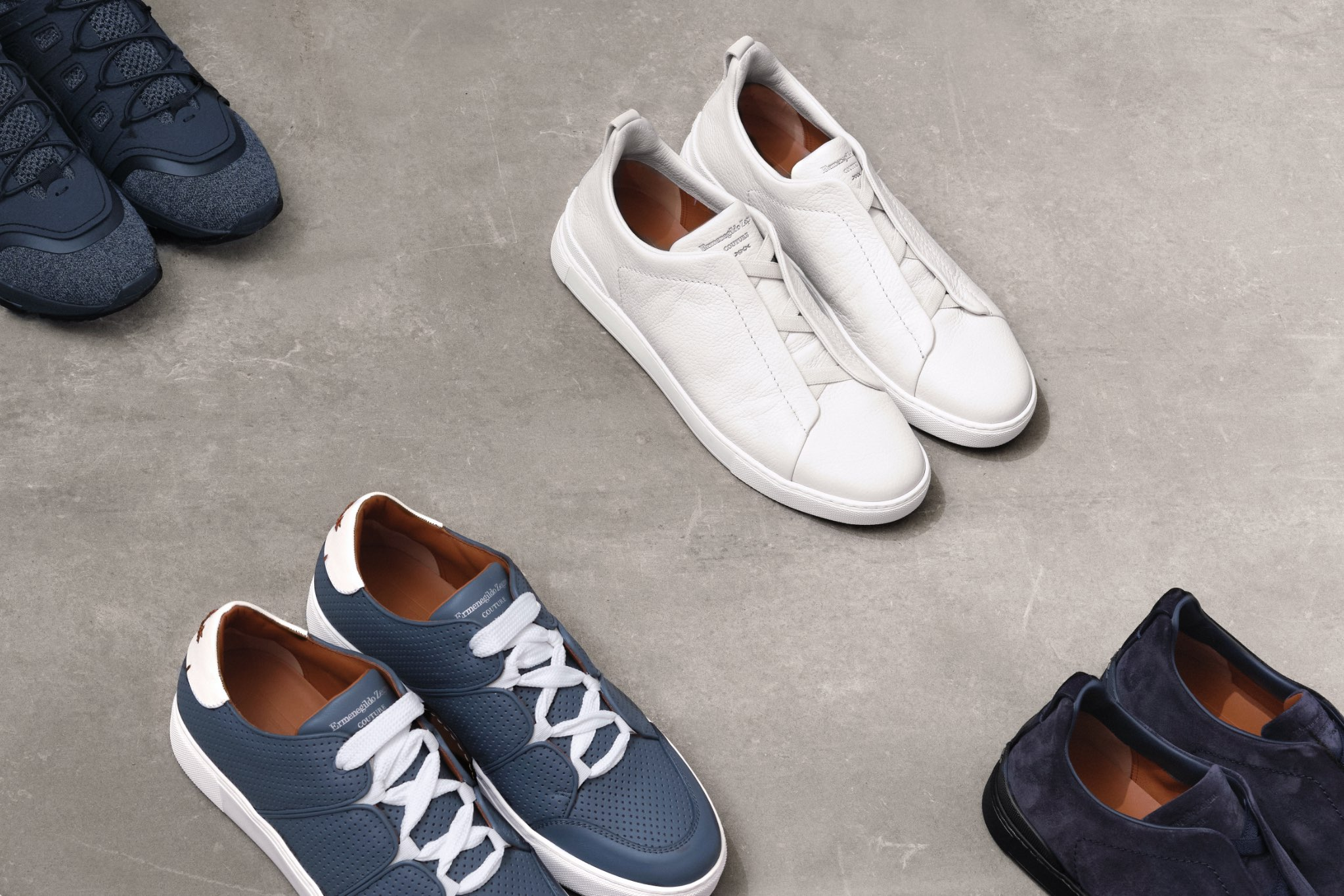 L'emblématique collection de sneakers | Zegna