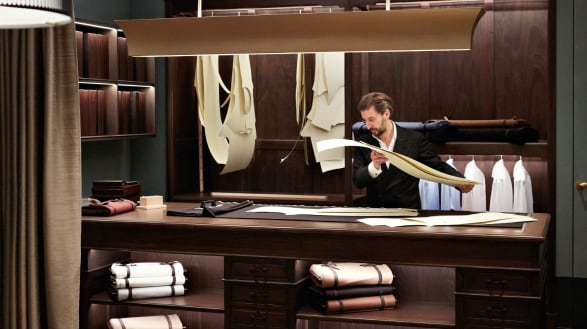 A bespoke experience: custom tailored clothes for men  | Zegna